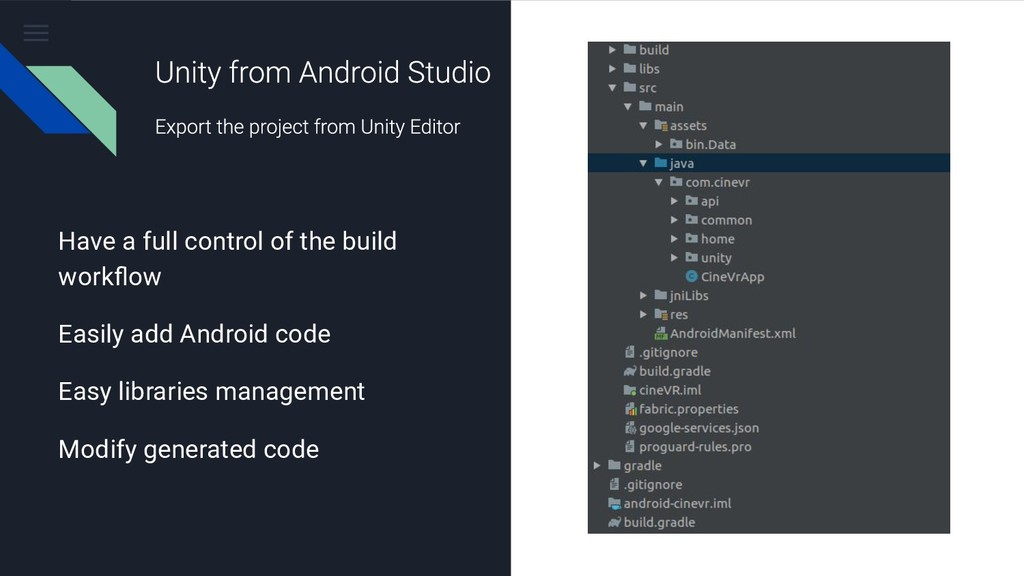 Have a full control of the build workflow Easily...