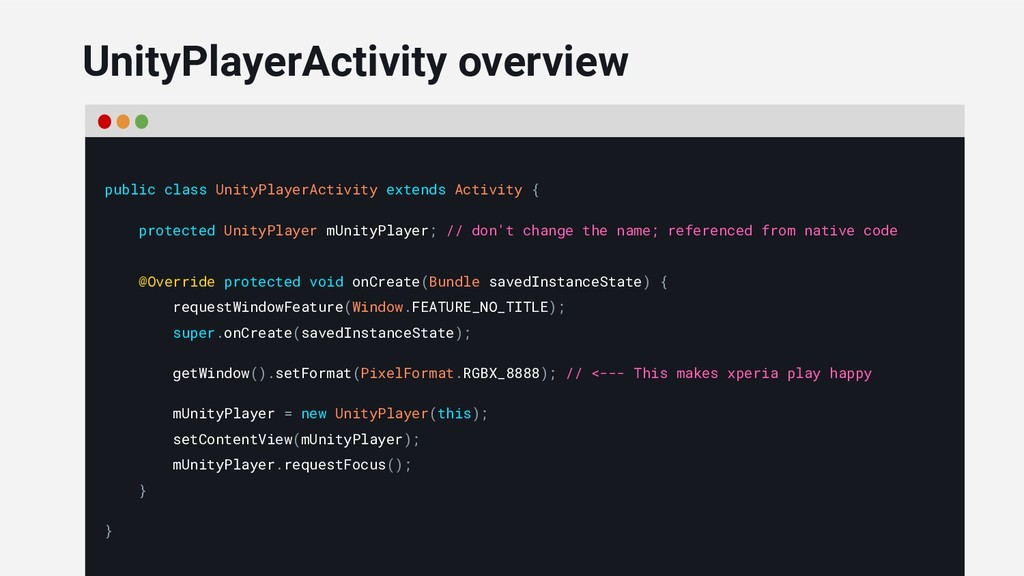 public class UnityPlayerActivity extends Activi...