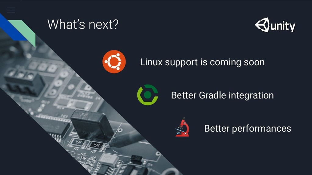 Linux support is coming soon Better Gradle inte...