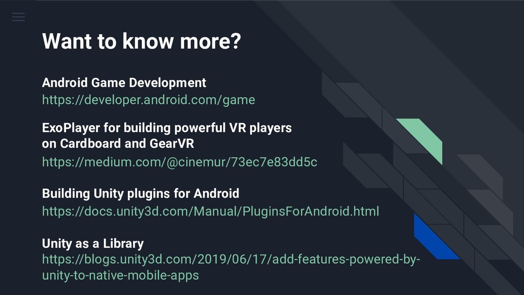 https://developer.android.com/game https://medi...