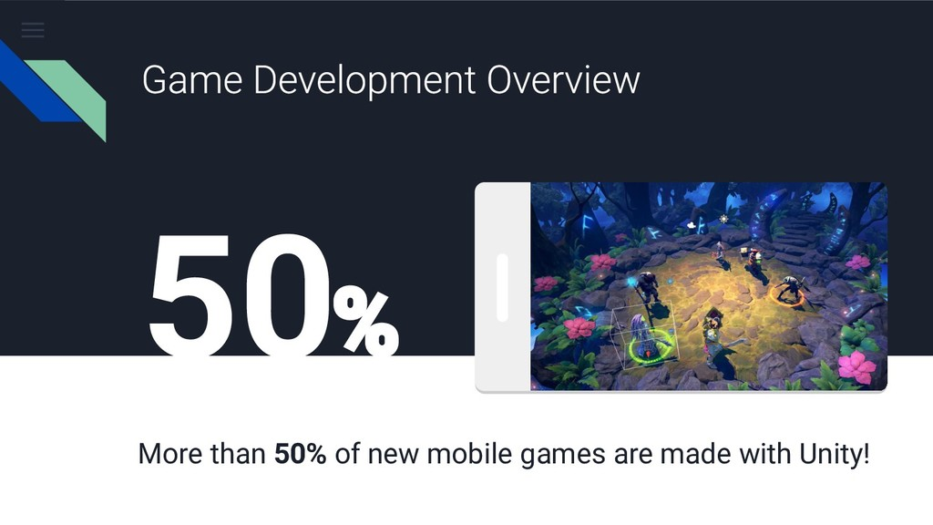 50 More than 50% of new mobile games are made w...
