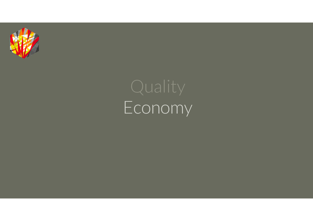 Quality Economy