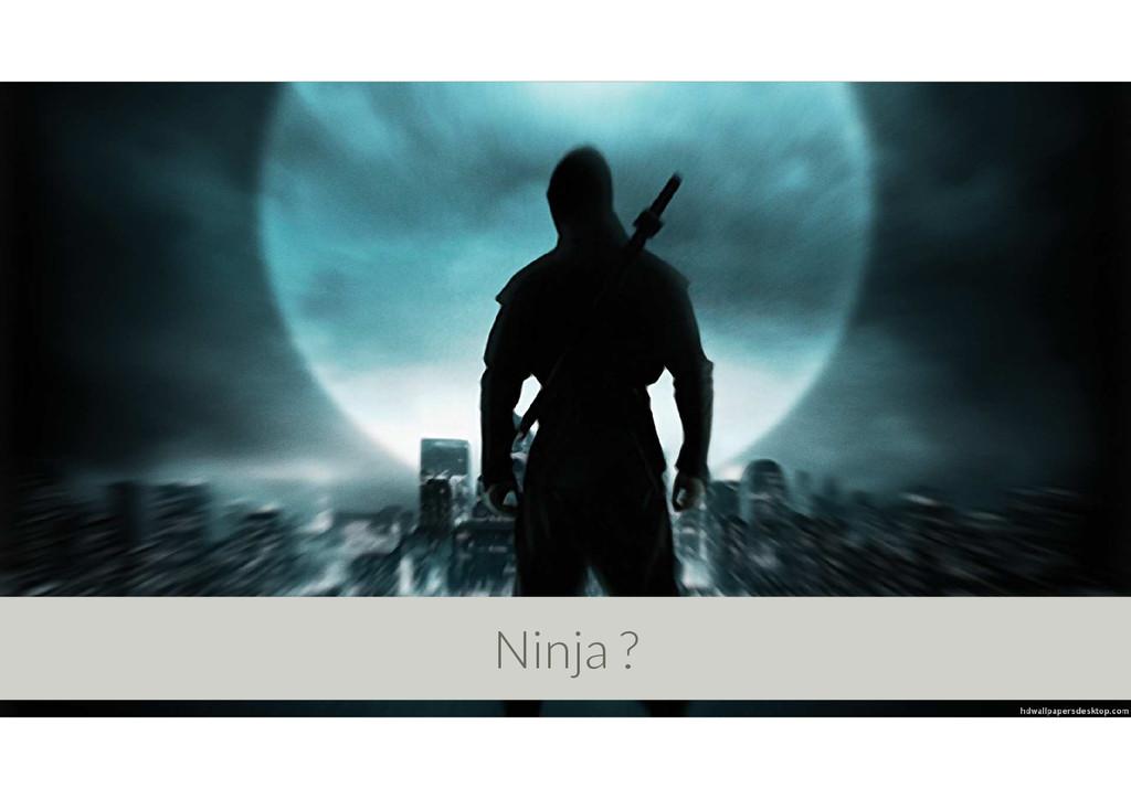 Ninja ?