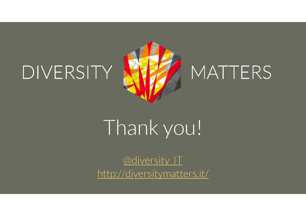Thank you! @diversity_IT http://diversitymatter...