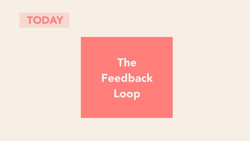 TODAY The Feedback Loop