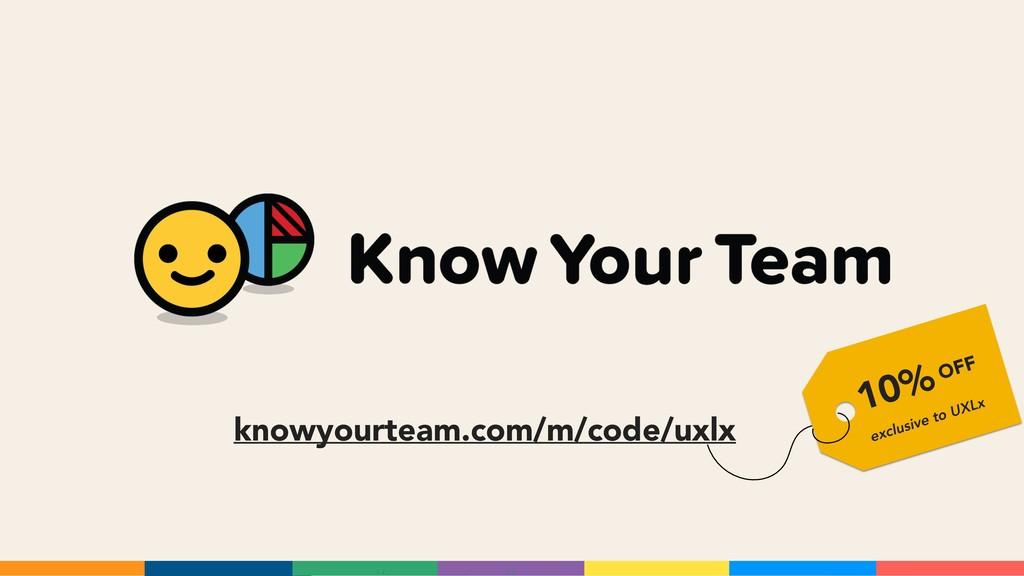 knowyourteam.com/m/code/uxlx 10% exclusive to U...
