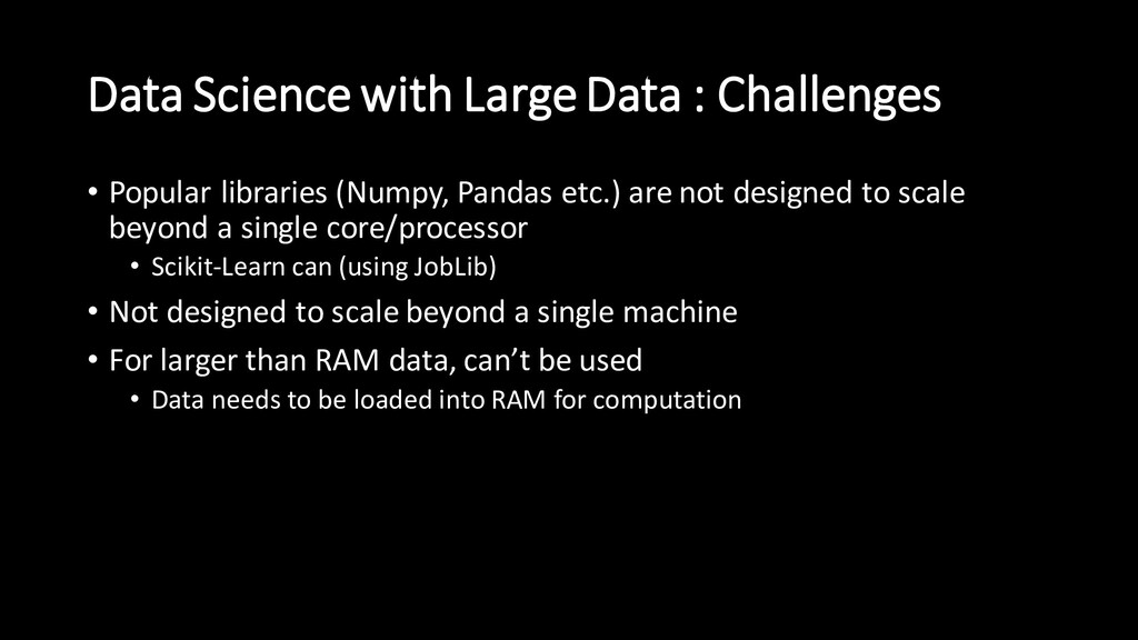 Data Science with Large Data : Challenges • Pop...