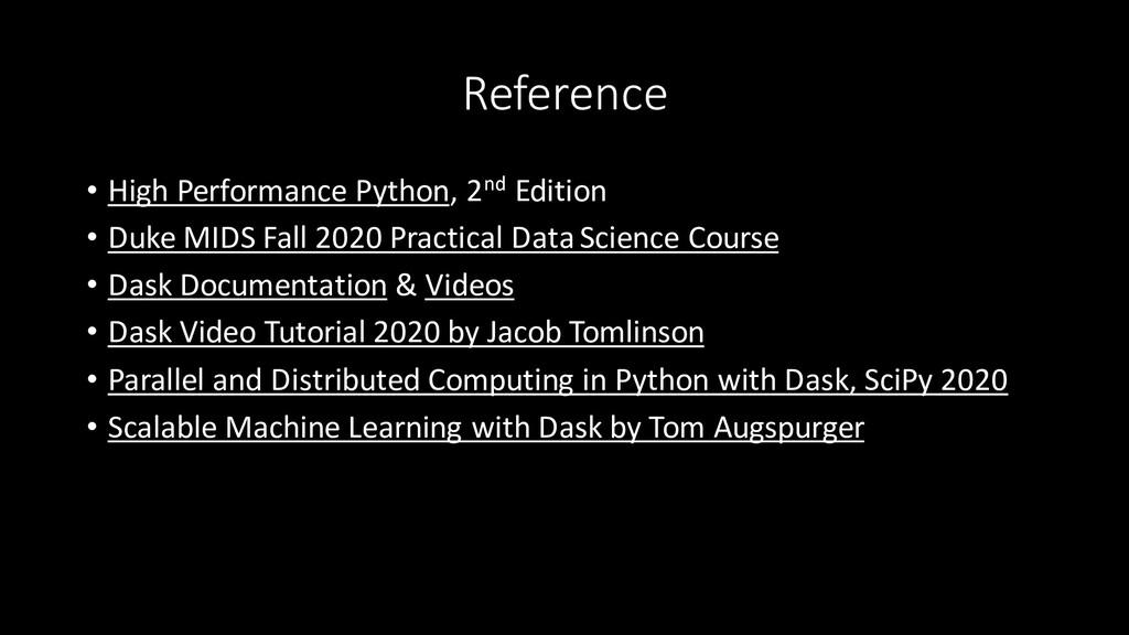 Reference • High Performance Python, 2nd Editio...