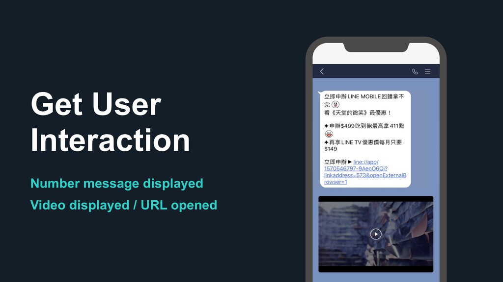 Get User Interaction Number message displayed V...