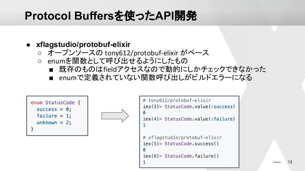 13 Protocol Buffersを使ったAPI開発 ● xflagstudio/prot...