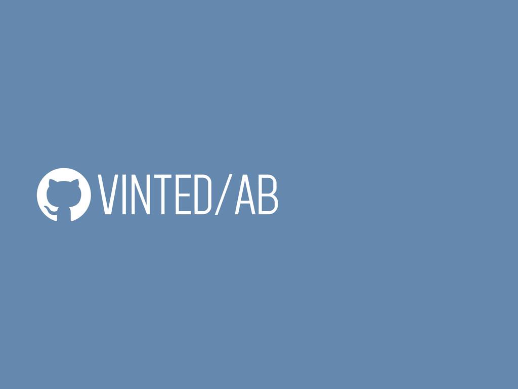 VINTED/AB
