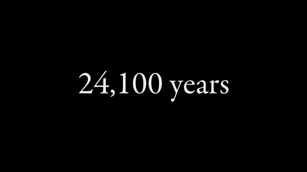 24,100 years