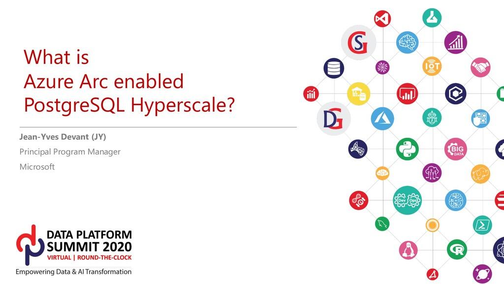 What is Azure Arc enabled PostgreSQL Hyperscale...