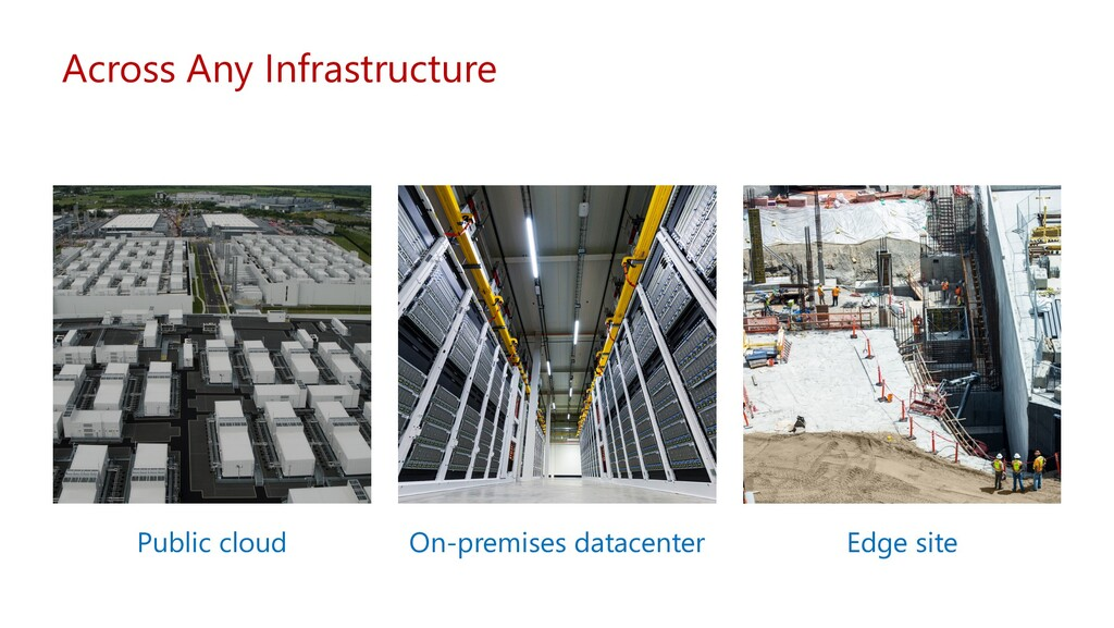 Across Any Infrastructure Public cloud On-premi...