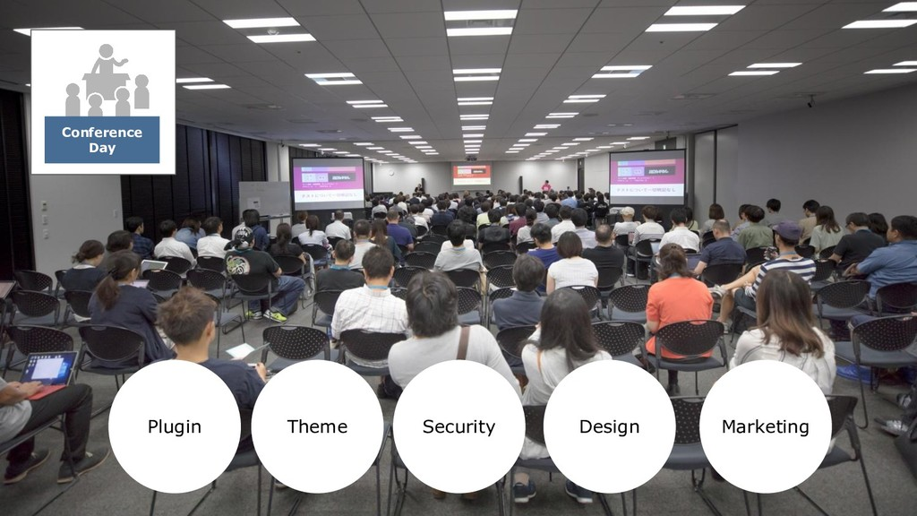Conference Day Plugin Theme Security Design Mar...
