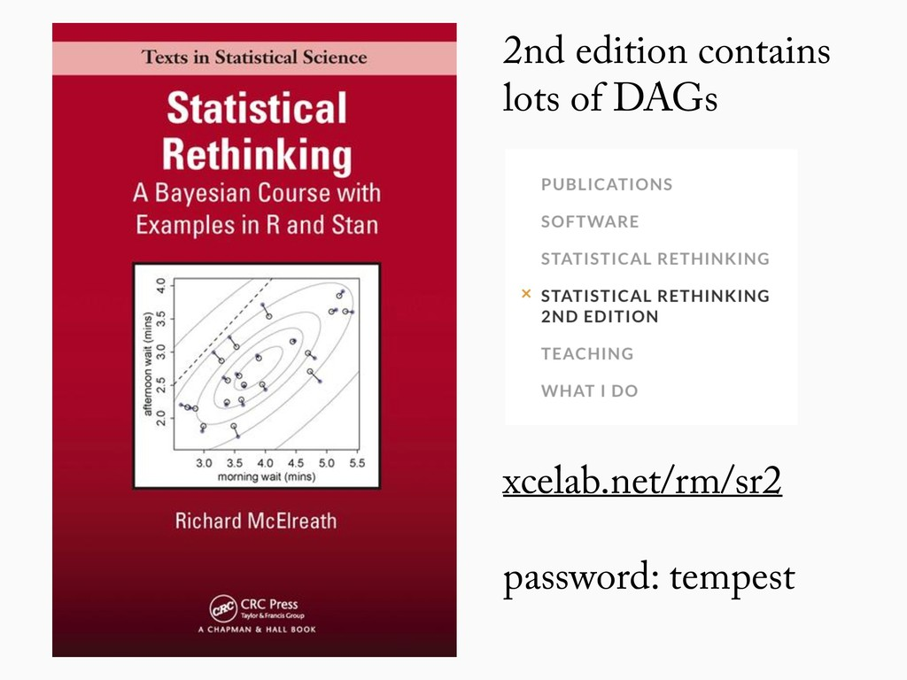 2nd edition contains lots of DAGs xcelab.net/rm...