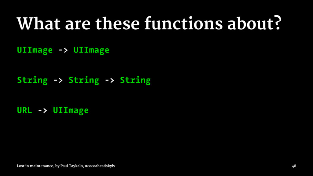 What are these functions about? UIImage -> UIIm...