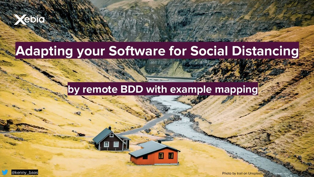 Adapting your Software for Social Distancing @k...