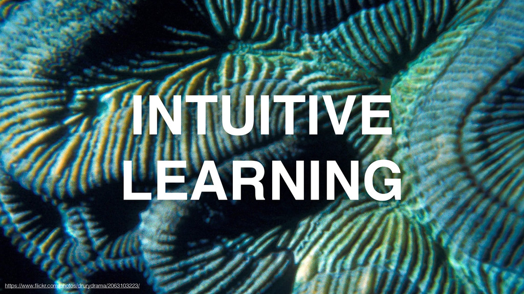INTUITIVE LEARNING https://www.flickr.com/photos...