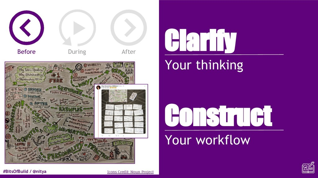 #BitsOfBuild / @nitya Clarify Your thinking Con...