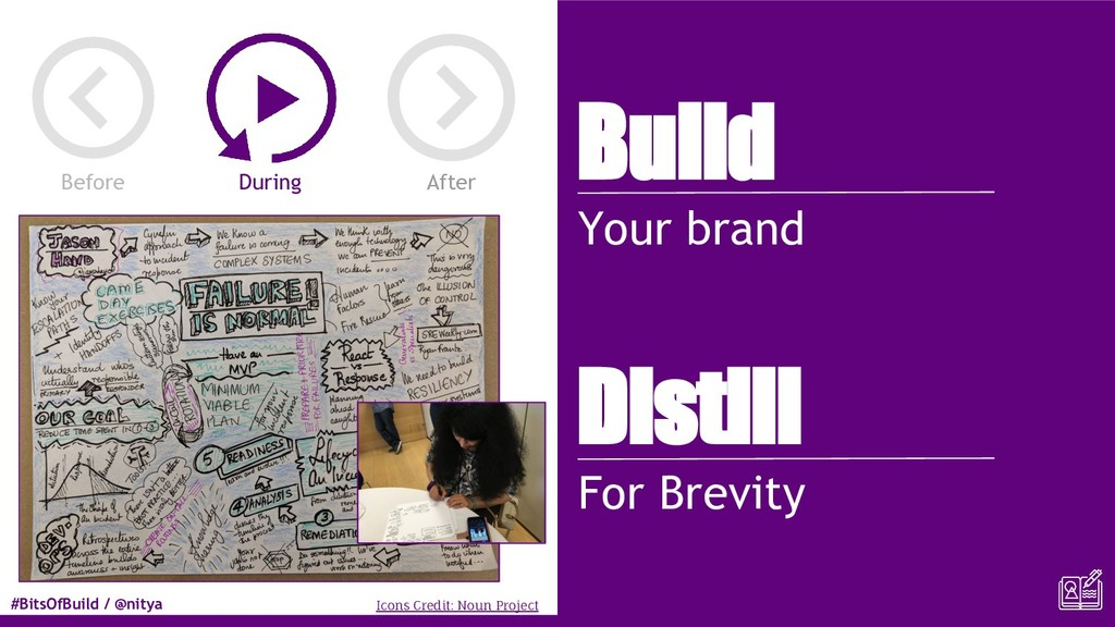 #BitsOfBuild / @nitya Build Your brand Distill ...