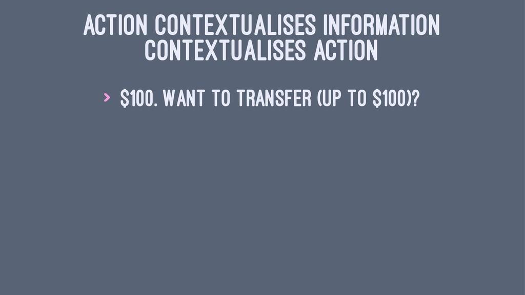 ACTION CONTEXTUALISES INFORMATION CONTEXTUALISE...
