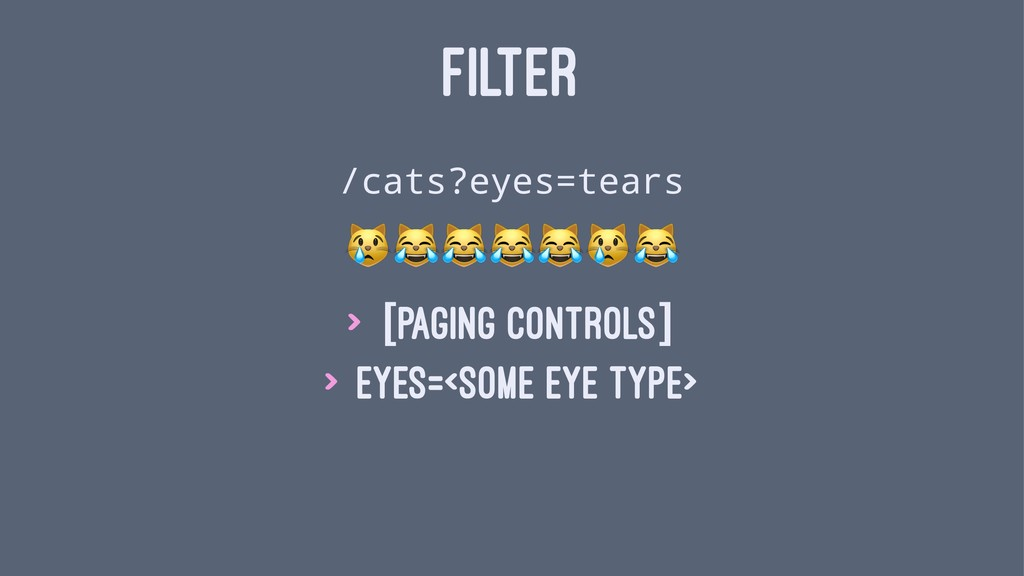 "FILTER /cats?eyes=tears!""""""""!"" > [paging contro..."
