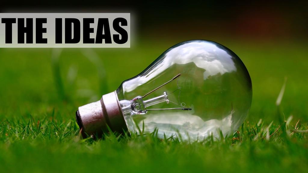THE IDEAS