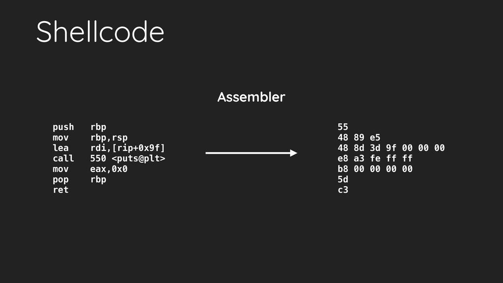 Shellcode push rbp mov rbp,rsp lea rdi,[rip+0x9...