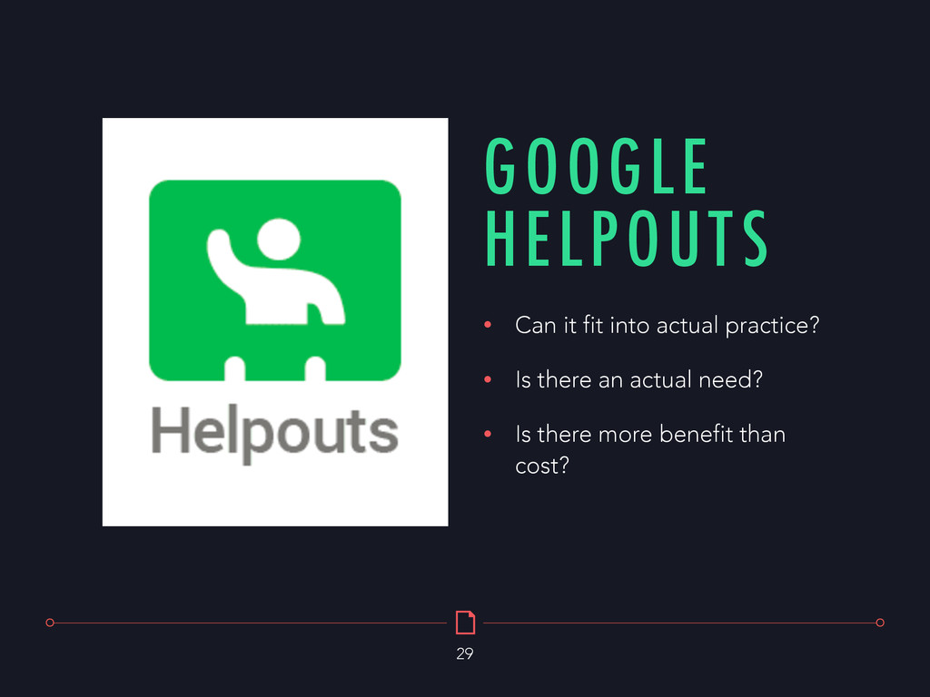GOOGLE HELPOUTS 29 • Can it fit into actual pra...