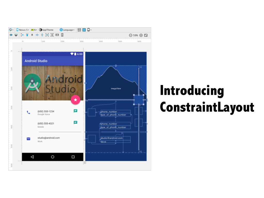 Introducing ConstraintLayout