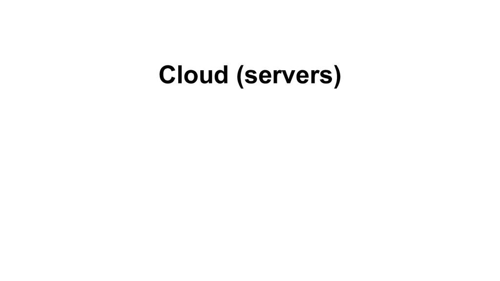 Cloud (servers)