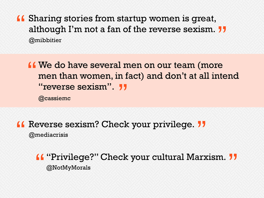 Sharing stories from startup women is great, al...