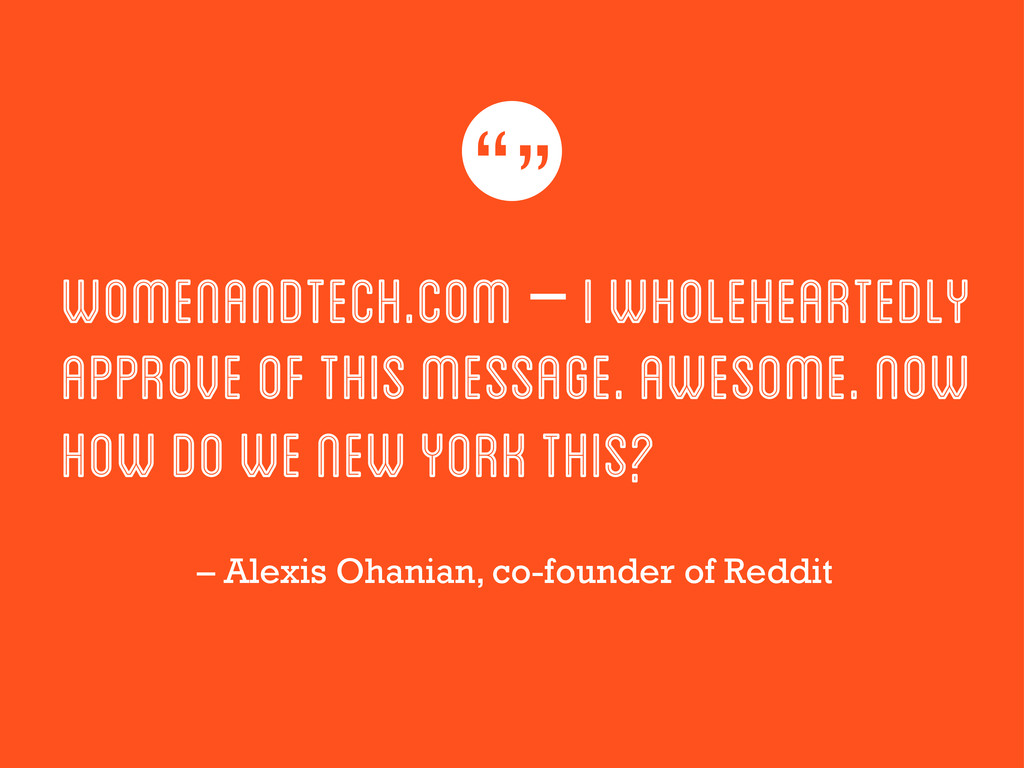 WomenAndTech.com – I wholeheartedly approve of ...