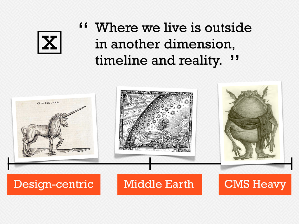 Design-centric Middle Earth CMS Heavy Where we ...