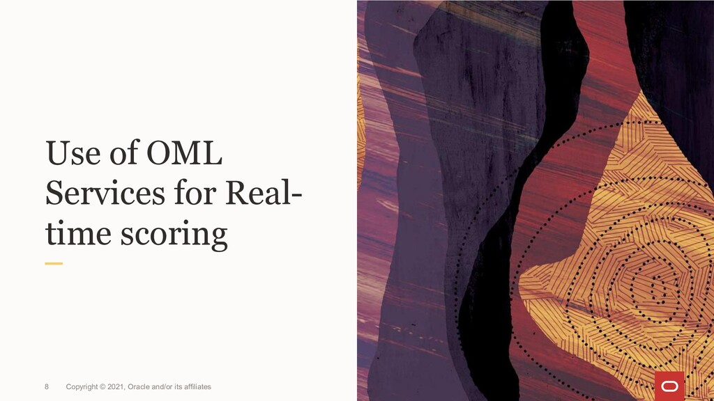 Use of OML Services for Real- time scoring Copy...