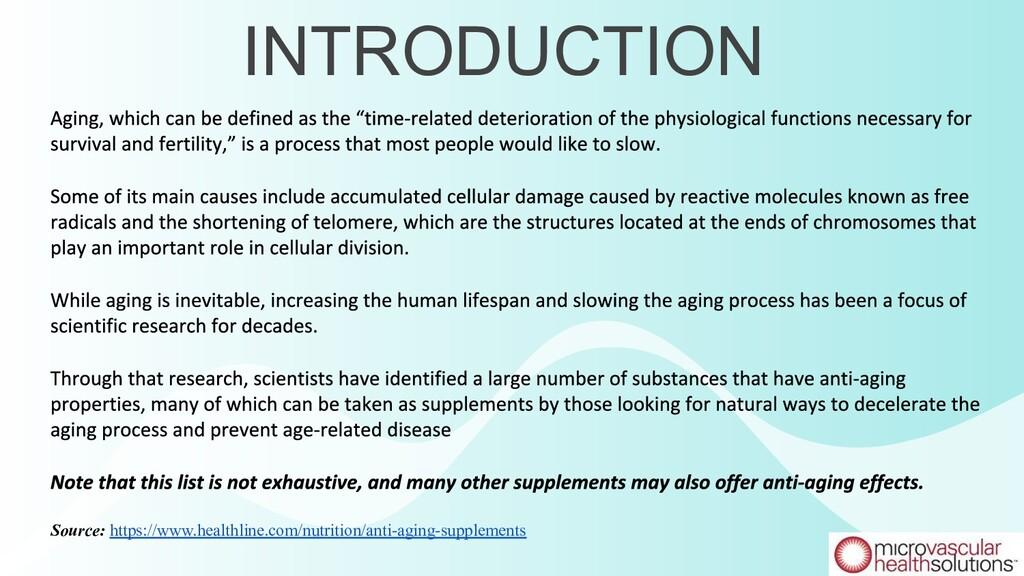 INTRODUCTION Source: https://www.healthline.com...