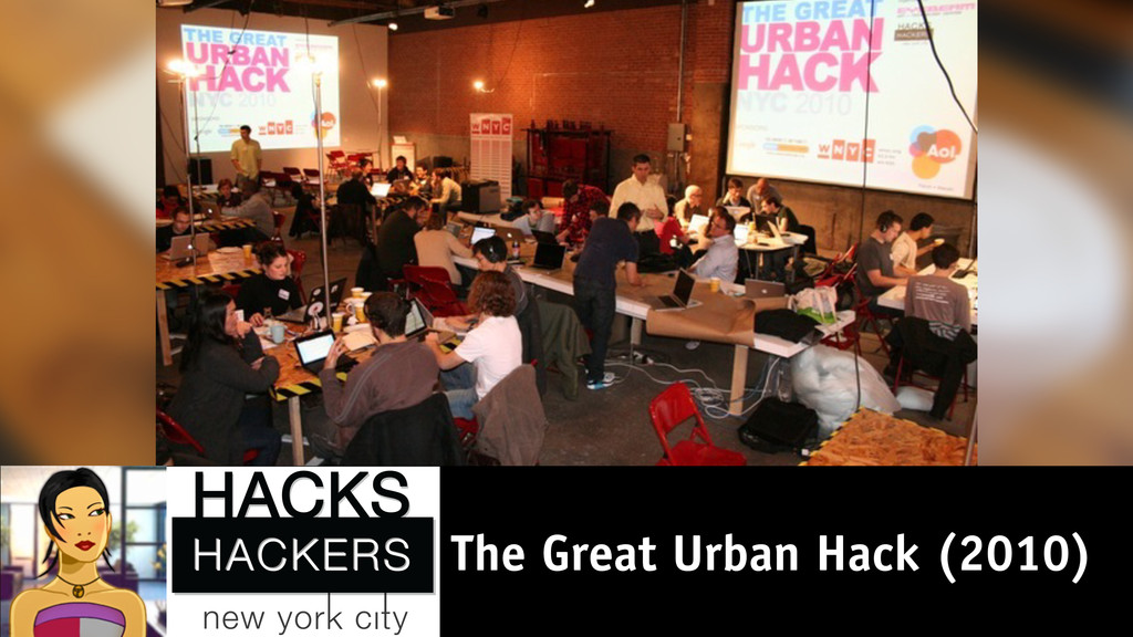 The Great Urban Hack (2010)