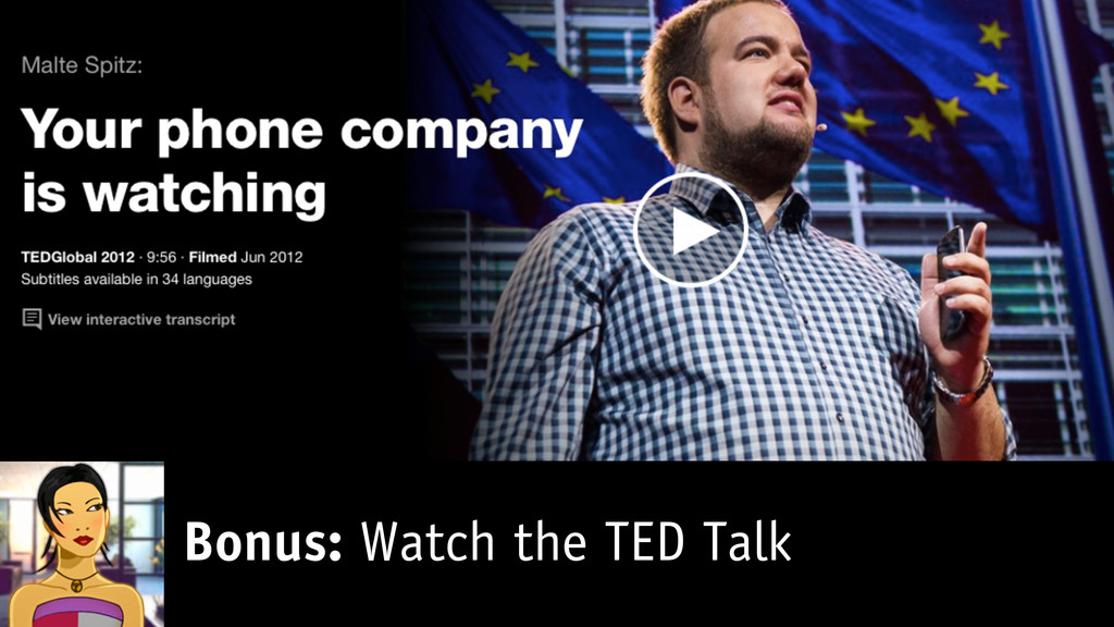 Bonus: Watch the TED Talk