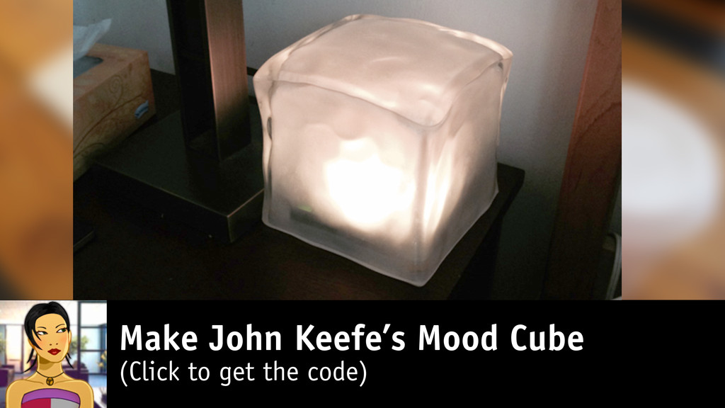 Make John Keefe's Mood Cube (Click to get the c...