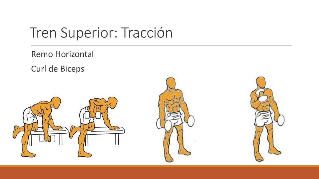 Remo Horizontal Curl de Biceps Tren Superior: T...