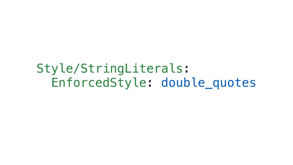 Style/StringLiterals: EnforcedStyle: double_quo...