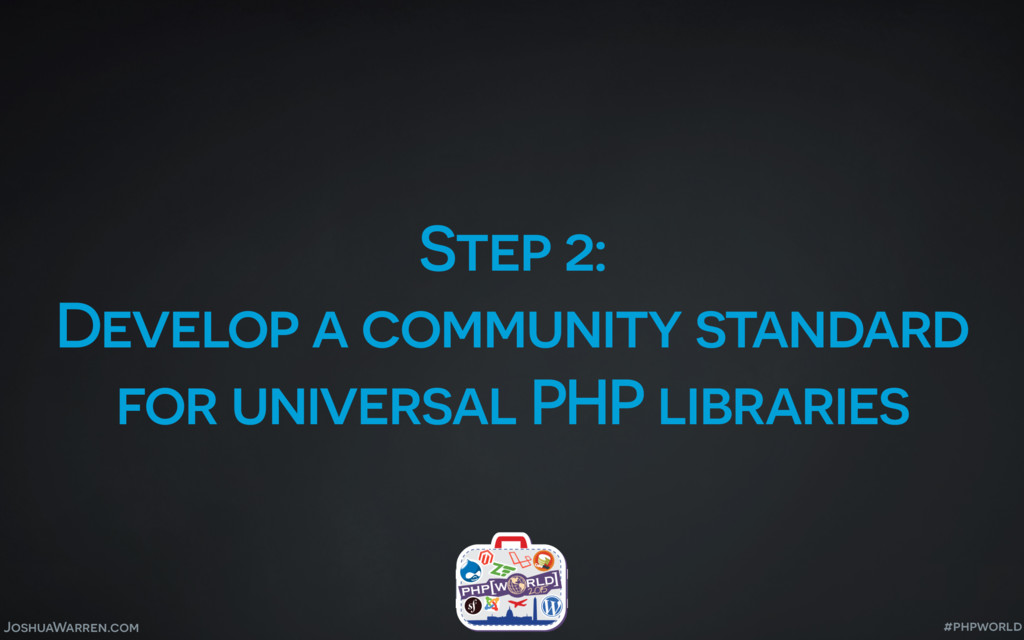 JoshuaWarren.com Step 2: Develop a community st...