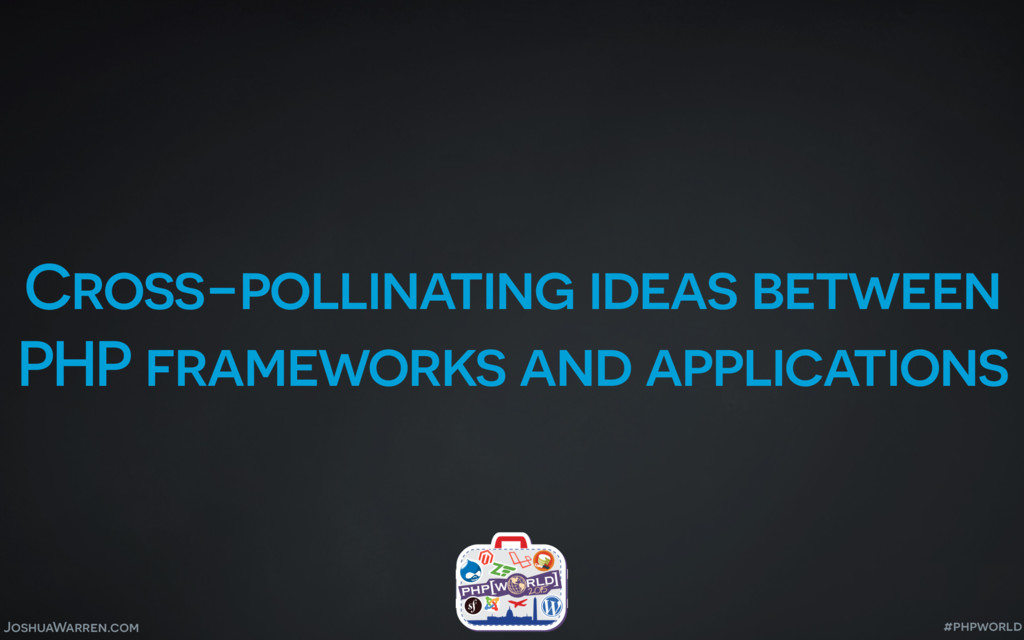 JoshuaWarren.com Cross-pollinating ideas betwee...