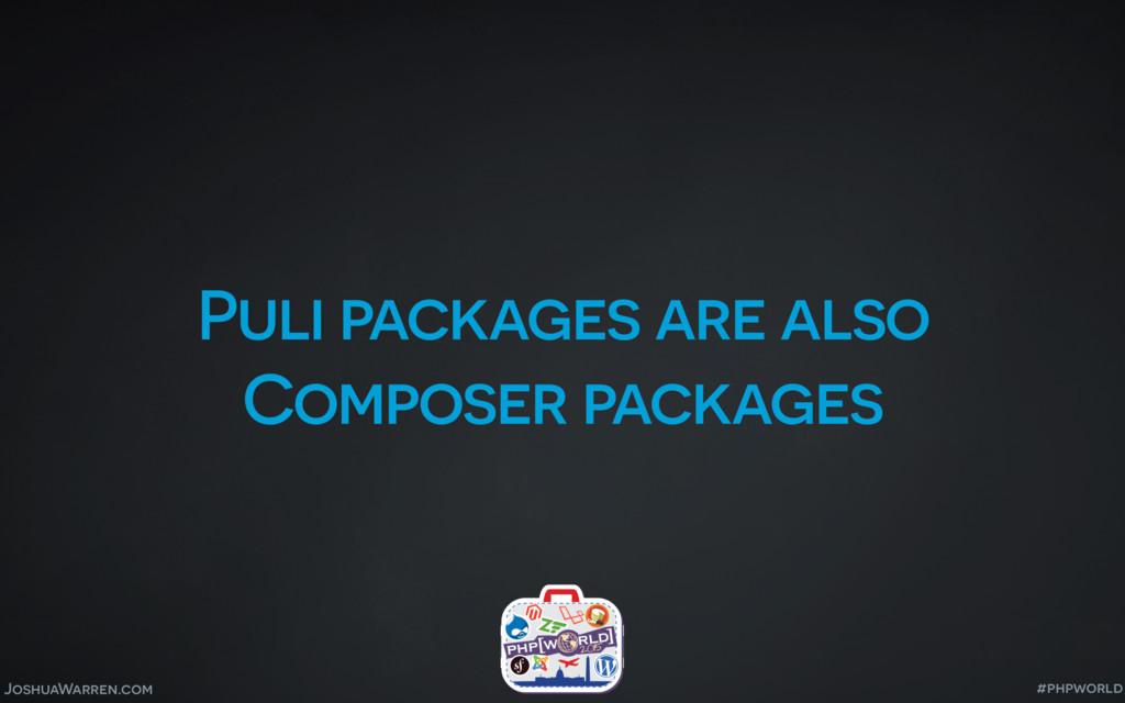 JoshuaWarren.com Puli packages are also Compose...