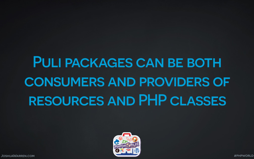 JoshuaWarren.com Puli packages can be both cons...