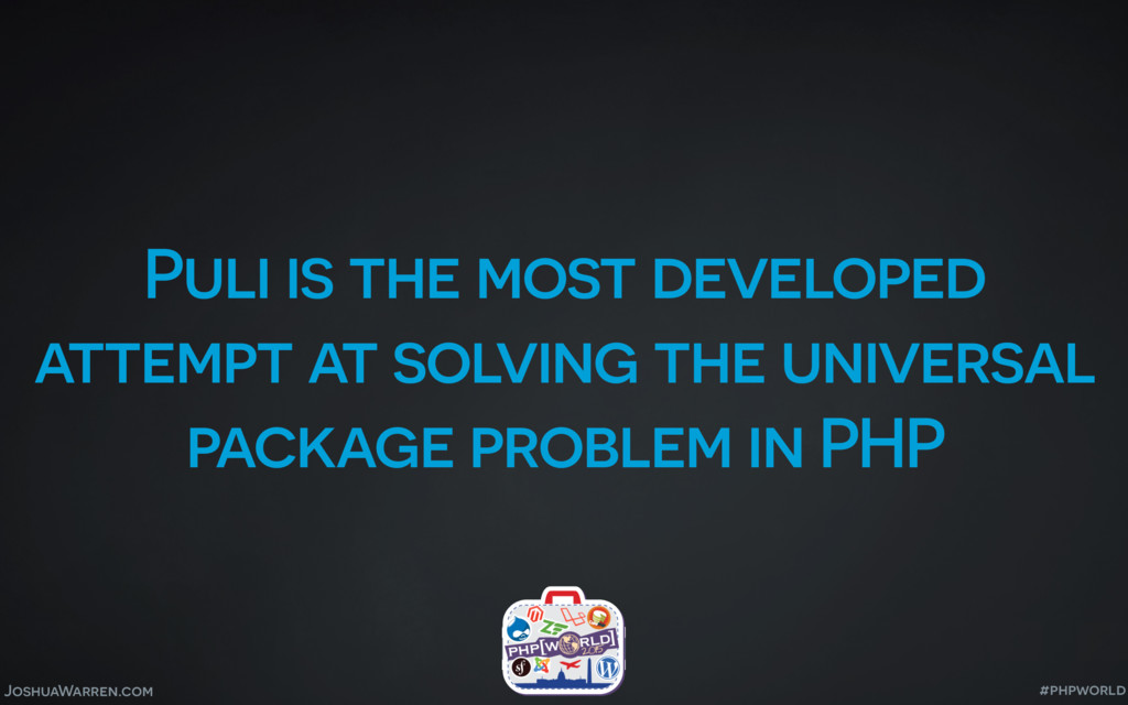 JoshuaWarren.com Puli is the most developed att...