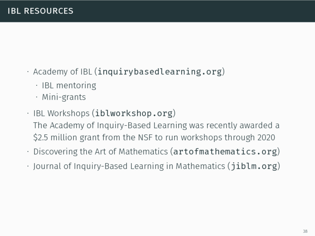 ibl resources ∙ Academy of IBL (inquirybasedlea...
