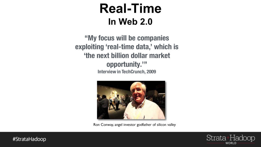 """Real-Time In Web 2.0 """"My focus will be companie..."""