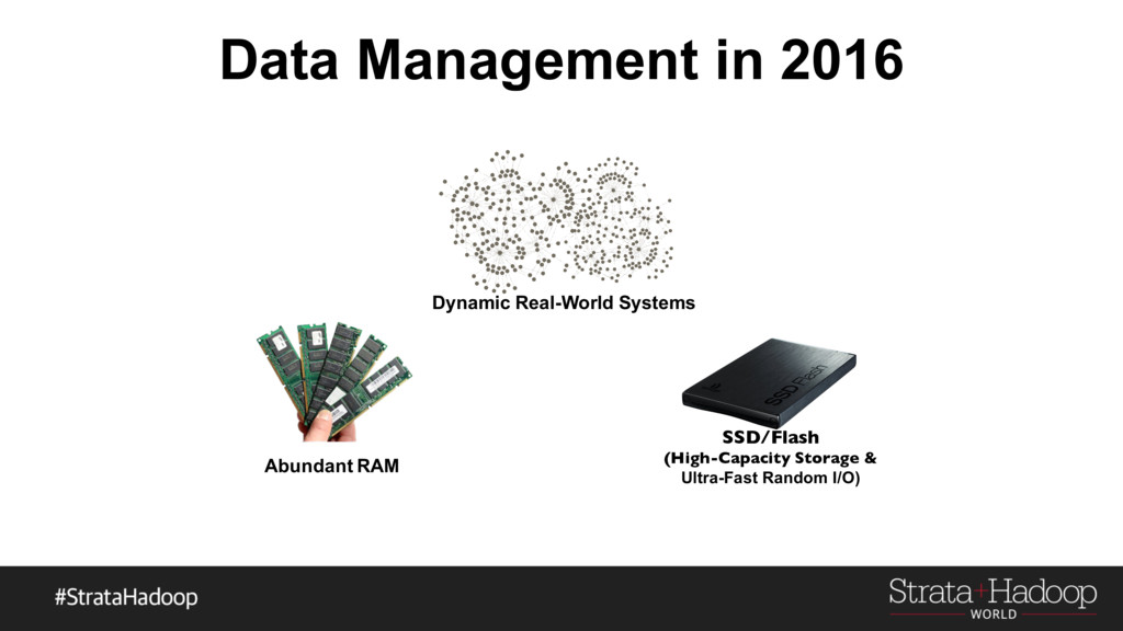 Data Management in 2016 Dynamic Real-World Syst...
